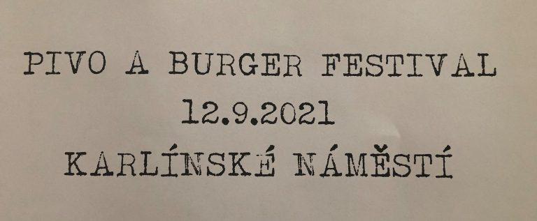 Pivo & Burger festival